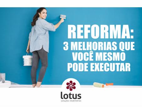 Reforma: 3 melhorias que você mesmo pode executar