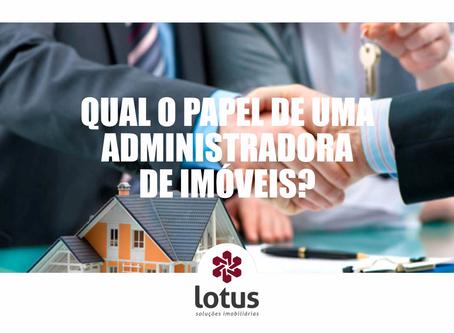 Qual o papel de uma administradora de imóveis?