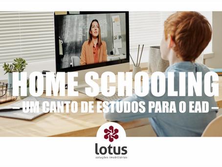 Home schooling – um canto de estudos para o EAD