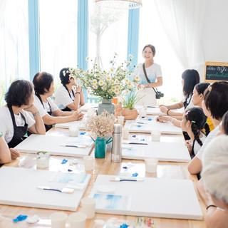 Lớp vẽ của Gió_Khai mạc tại Đà Nẵng.jpg