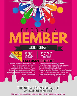 Membership Flyer - Made with PosterMyWal
