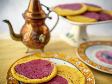 Raspberry Lemonade Marbled Sugar Cookies & Cookbook Review
