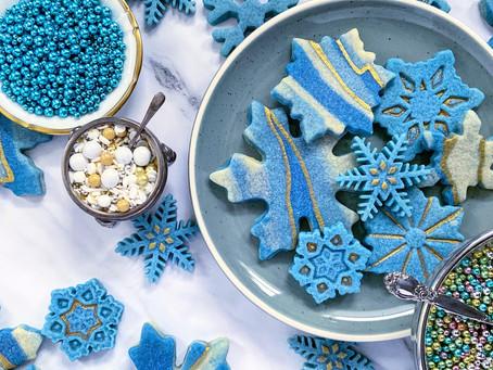 Holiday Baking: Snowflake Sugar Cookies