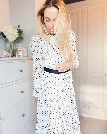 Eva Polka Dot Dress