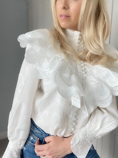 Florence Embroidered Blouse