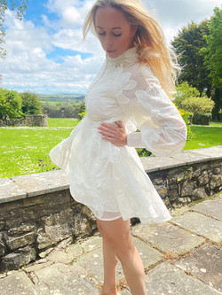 Celeste Floral Lace Dres