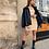 Thumbnail: Jupe taille haute beige