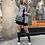 Thumbnail: Veste en jean grise avec découpe