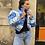 Thumbnail: Doudoune imprimé bandana bleu