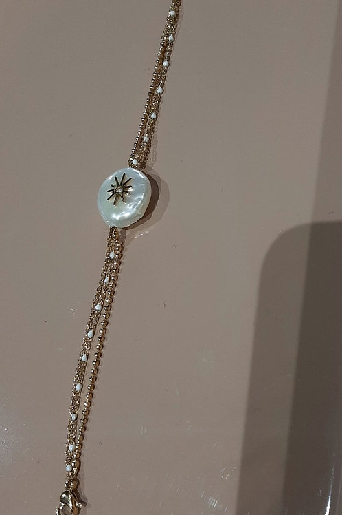 Bracelet avec nacre