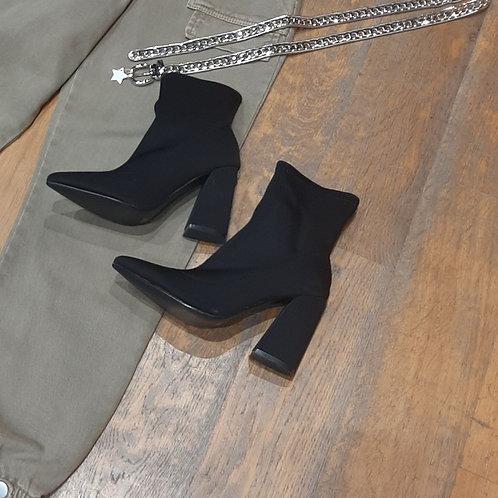 Boots chaussette noir