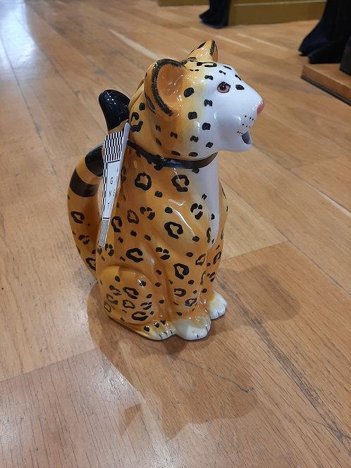 Carafe leopard klevering