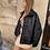 Thumbnail: Veste simili cuir matelassée
