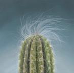 Blue Cactus- Pastels