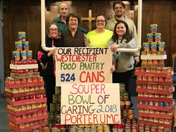 souper bowl of caring presentation