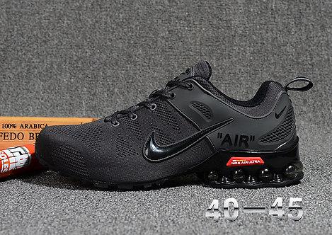 Nike Shox Reax Run Tripple Black Mens Running Shoes