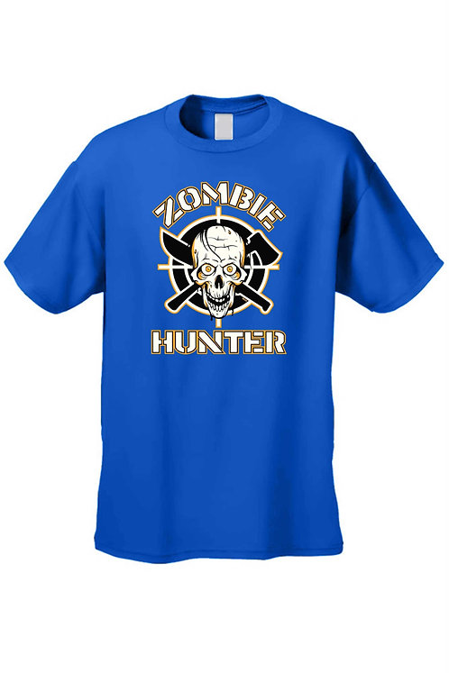 Men's/Unisex T Shirt Zombie Hunter Kill Them All Short Sleeve Tee