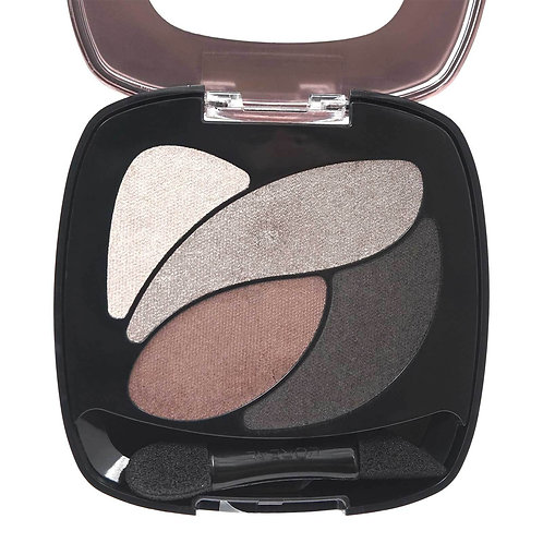LOREAL DUAL EFFECTS EYESHADOW QUAD- ABSOLUTE TAUPE