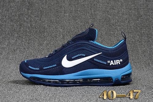 Mens Nike Air Max 97 Navy blue jade Winter Sneakers