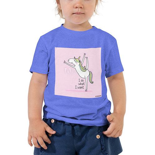 Toddler Short Sleeve unicorn shirt