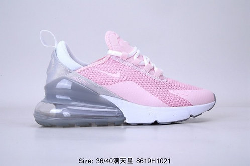 Nike Air Max 270 Pink White Womens Running Shoes