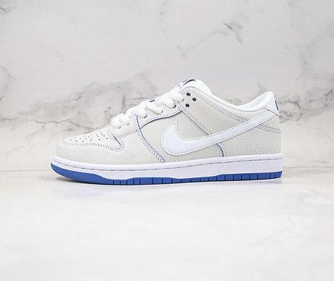 Nike SB Dunk Low Premium White Game Royal CJ6884-100 Classic Sneakers