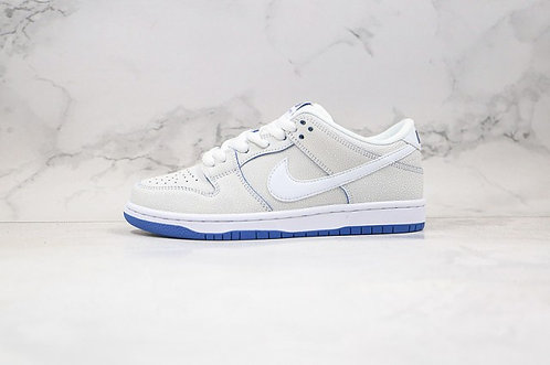 Nike SB Dunk Low Premium White Game Royal CJ6884-100 Classic Sneakers
