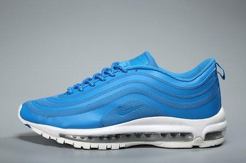 Mens Nike Air Max 97 Royal Blue White Sneakers