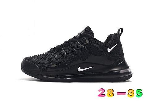 Nike Air Max TN 720 Black White Kids Running Shoes