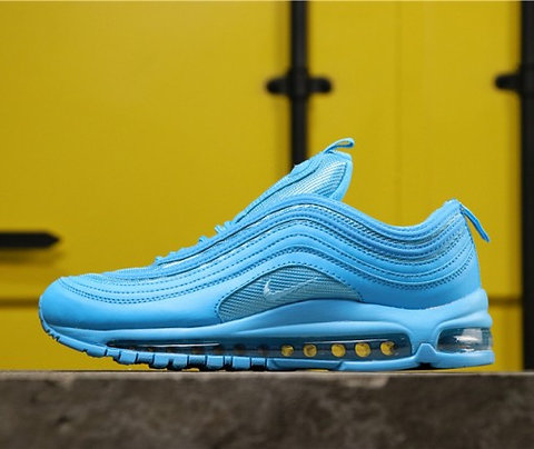 Unisex Summer Sneakers Nike Air Max 97 Blue