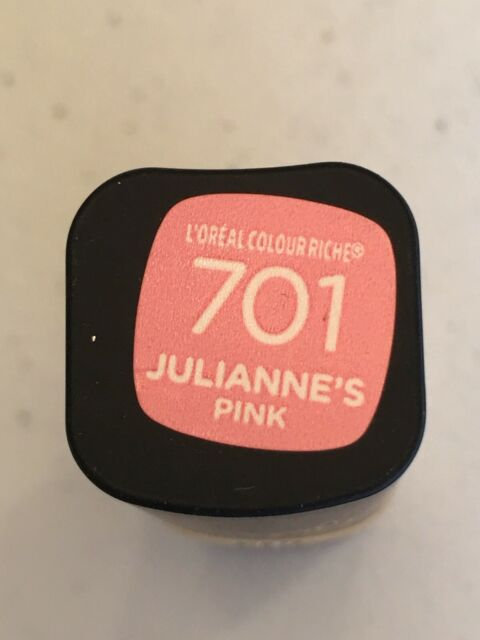 Loreal Colour Riche Collection Exclusive Lipstick #701 Julianne's Pink