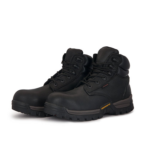 ROCKROOSTER 6inch MetalfreeWork Boots,PunctureResist,AT697PRO Black