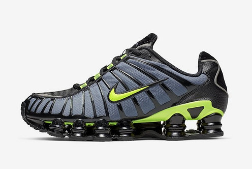 Nike Shox TL Thunderstorm Thunder Storm/Volt-Black CI7692-400 Mens Running Shoes