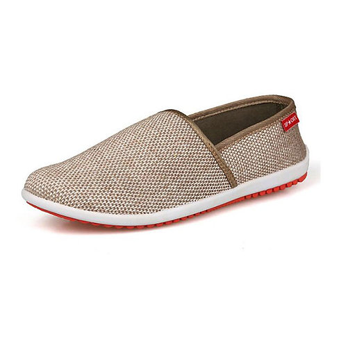 Men Casual Breathable Slip On Loafers Shoes