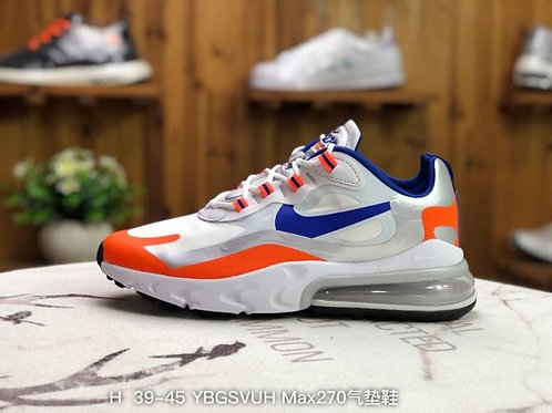 Nike Air Max 270 React (Multi) - CW3094-100 Mens Running Shoes