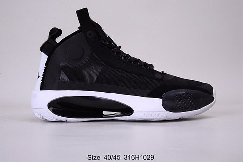 Nike Air Jordan 34 Black White Mens Basketball Shoes