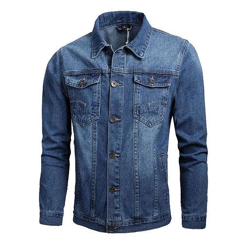 Wholesale Stylish Men Cotton Casual Denim Jacket