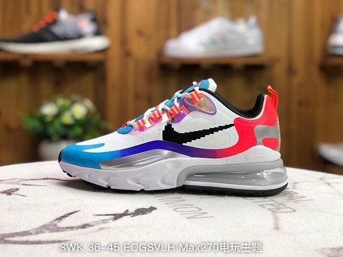 "Nike Air Max270 React High""Have A Good Game"" DC0833-101 Mens Womens Running Shoe"