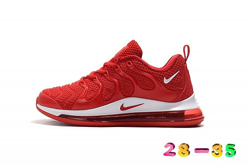 Nike Air Max TN 720 Red White Kids Running Shoes