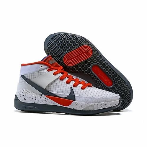 Nike KD 13 USA White/Obsidian/Sport Red CI9948-101 Mens Basketball Shoes