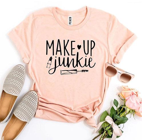 Make Up Junkie T-shirt
