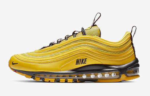 "Unisex Nike Air Max 97 Premium ""Bright Citron"" AV8368-700 Footwear Running Shoes"