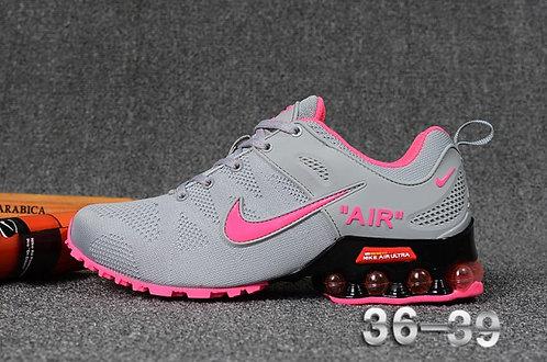 Nike Shox Reax Run Wolf Grey Pink Womens Running Shoes