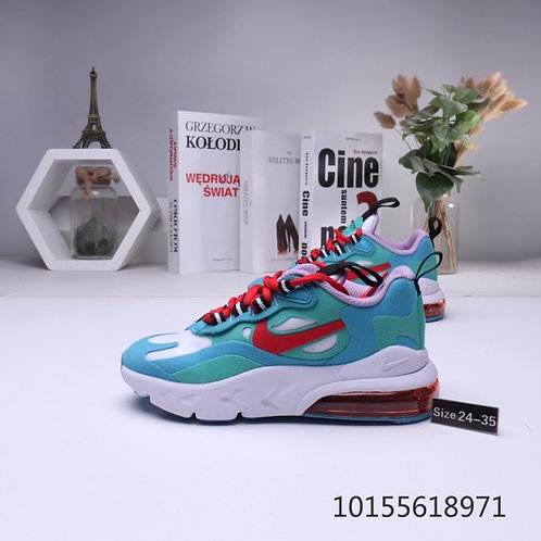 Nike Air Max 270 RT Phantom Blue Red White Children's shoes