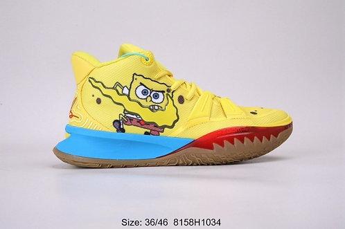 Unisex Nike Kyrie 7 Spongebob Mens Basketball Shoes