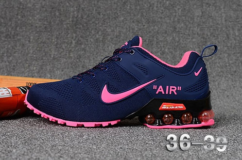 Nike Shox Reax Run Navy Blue Pink Womens Running Shoes