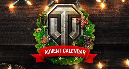 Adventní kalendář World of Tanks 2018