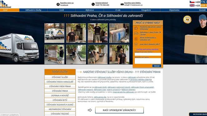 111 Stehovani - Moving Company