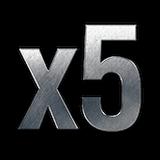 5x více zkušeností za první výhru