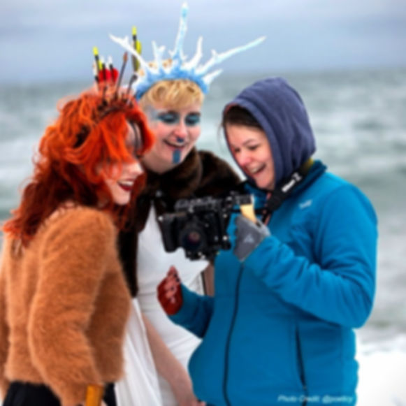 Viking Queen Video Shoot
